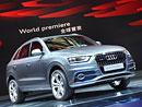 Audi Q3: Světová premiéra v Šanghaji