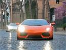 Lamborghini Aventador: Všechny cesty vedou do Říma (video)