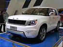 BAIC BAW T90: Čínský Range Rover kombinuje osmiválec s elektromotorem