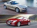 BMW Z4 vs. Mercedes-Benz SLK
