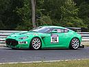 Aston Martin V12 Zagato m� prvn� z�vod za sebou
