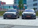 Mercedes-Benz C vs CL: Modrá kolekce 2011