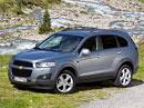 Chevrolet Captiva: Ceny na českém trhu od 449.900,- Kč