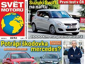 Svět motorů 26/2011: Potrápí škodovka mercedes?