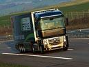 Na německé dálnici zahynul Čech, když hasil svůj kamion