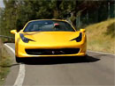 Video: Fernando Alonso za volantem Ferrari 458 Spider