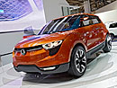 SsangYong ve Frankfurtu: Koncept crossoveru a skoro nový  pick-up