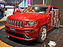 Jeep ve Frankfurtu: Indiáni a italské modelky