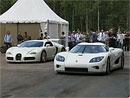 Video: Bugatti Veyron vs. Koenigsegg CCXR – férový souboj