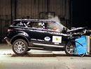Euro NCAP 2011: Range Rover Evoque – Pět hvězd, ale jen těsně