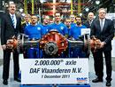 DAF Vlaanderen vyrobil 2miliontou nápravu