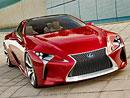 Lexus LF-LC: Nové fotografie luxusního kupé