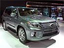 Lexus LX 570: Facelift ve stylu GS