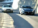 Ferrari FF a Jensen FF ve Svatém Mořici (video)