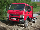Mitsubishi Fuso Canter 4x4: Novinka s pohonem všech kol
