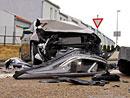 Crash test na vlastní kůži: Nová Kia Cee'd má za sebou první nehodu! (foto + video)