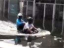 Motorkář a voda