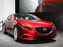 Mazda Takeri alias budoucí Mazda6 na vlastní oči