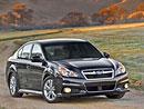 Subaru Legacy a Outback modelového roku 2013 v New Yorku