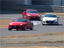 Závod mezi Mazdou MX-5, Subaru BRZ a Toyotou GT 86 (video)