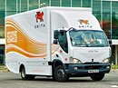DHL začala v Praze testovat elektrickou Avii