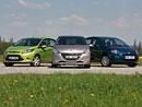 Srovnávací test Světa motorů: Peugeot 208 vs. Fiat Punto vs. Ford Fiesta