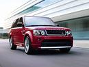 Range Rover Sport Red: Speciální edice na počest královny