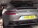Aston Martin Vanquish II: Nástupce DBS přistižen (video)