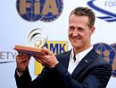 2x video: Michael Schumacher v Praze