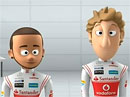 Video: Animovaní Lewis Hamilton a Jenson Button