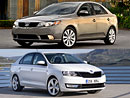 Kia Forte vs. Škoda Rapid