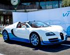 Bugatti Veyron Grand Sport Vitesse SE: Modrobílý rychlík v Pebble Beach