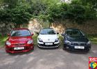 Srovnávací test Světa motorů: Ford Focus vs. Renault Mégane vs. Volkswagen Golf