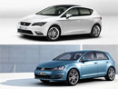 Volkswagen Golf vs. Seat Leon