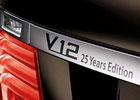 BMW 760Li V-12 25 Years Anniversary Edition oslavuje 25 let dvanáctiválců
