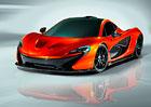 McLaren P1: V Paříži jako designová studie, v prodeji příští rok (nové fotografie)
