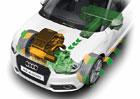 Budoucí motory Audi: Elektrické biturbo a tříválcový hybrid