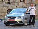 Videoreportáž: Poprvé za volantem nového Seatu Toledo