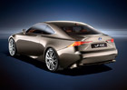 Lexus LF-CC: Hybridní kupé s pohonem zadních kol