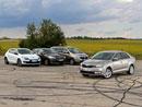 Srovnávací test Světa motorů: Škoda Rapid vs. Dacia Lodgy vs. Citroën C4 vs. Renault Mégane