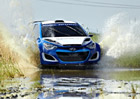 Video: Hyundai i20 WRC se radostně vrhá do bláta