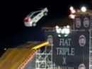 Video: Fiat Punto na adrenalinové show Triple X řekl hop, ale nepřeskočil