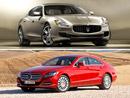Maserati Quattroporte vs. Mercedes-Benz CLS