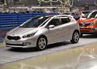 Kia už letos na Slovensku vyrobila více aut než za celý rok 2011