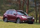 Subaru Forester čtvrté generace ve velké fotogalerii