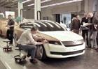 Nová Škoda Octavia III 2013 opět o něco více odhalená