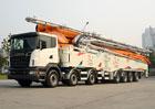 Scania: Největší čerpadlo betonové směsi na světě