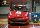 Euro NCAP 2012: Fiat 500L – Pět hvězd pro rodinnou pětistovku