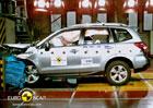 Euro NCAP 2012: Subaru Forester – Lesník získal pět hvězd