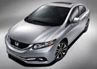 Faceliftovaná Honda Civic sedan odhalila také svůj interiér